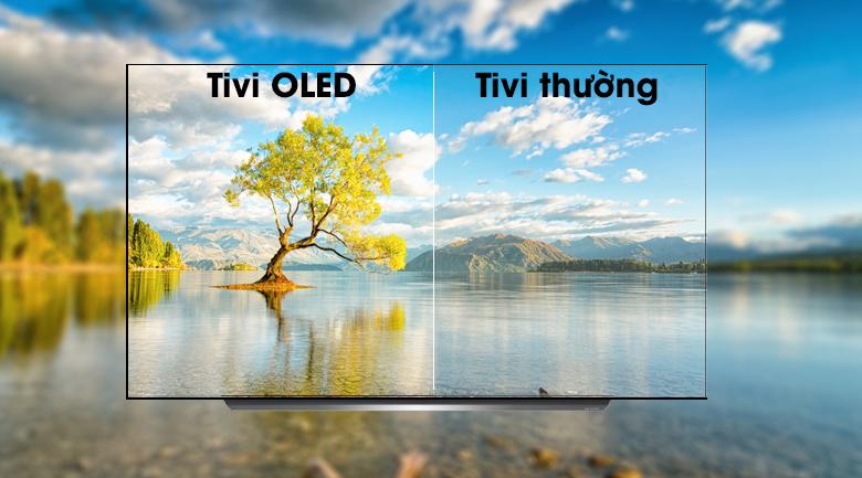 Smart Tivi OLED LG 4K 65 inch 65C9PTA có công nghệ màn hình tivi OLED