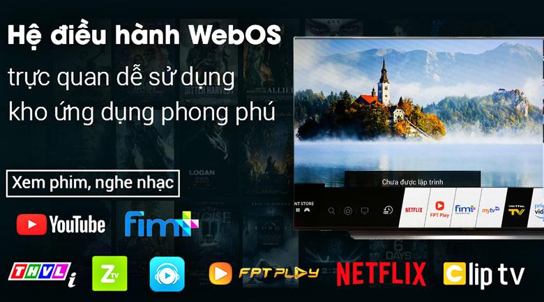 Smart Tivi OLED LG 4K 65 inch 65C9PTA - hệ điều hành