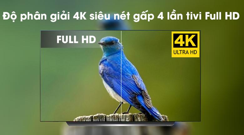 Smart Tivi OLED LG 4K 65 inch 65C9PTA có độ phân giải 4K