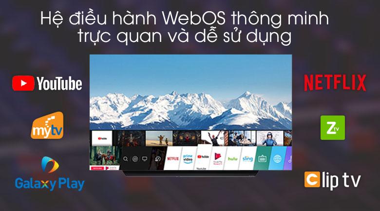 Tivi OLED LG 4K 65 inch 65C9PTA - Hệ điều hành WebOS 4.5