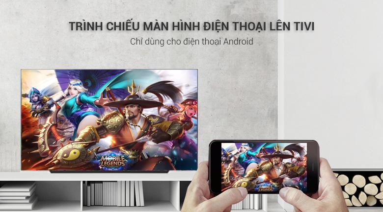 Tính năng Screen Mirroring Smart trên Tivi OLED LG 4K 65 inch 65C9PTA