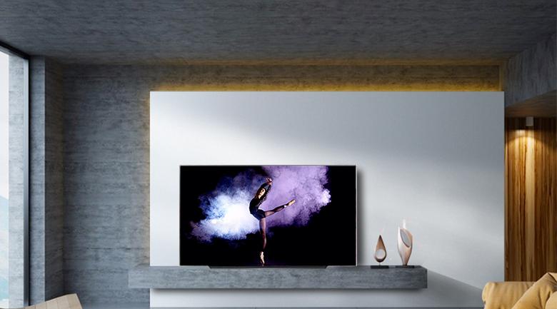 Smart Tivi OLED LG 4K 65 inch 65C9PTA có thiết kế sang trọng bật mắt