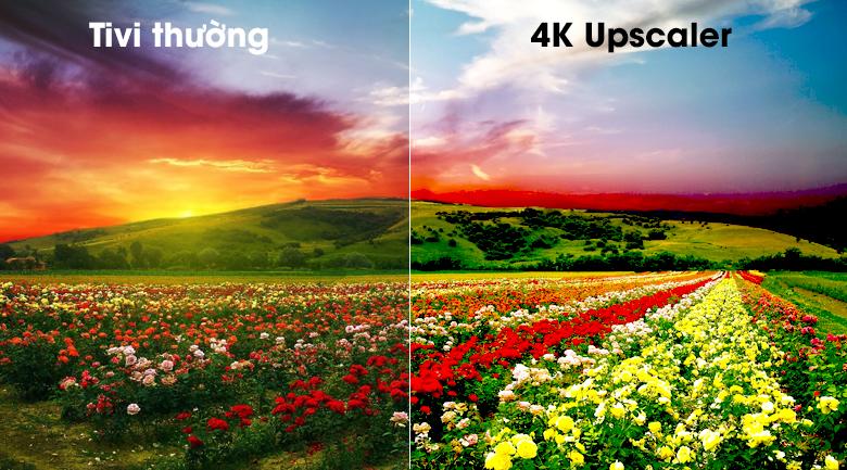 Smart Tivi OLED LG 4K 65 inch 65C9PTA có công nghệ 4K Upscaler
