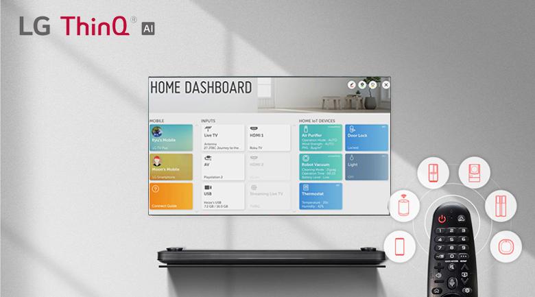 Trí thông minh nhân tạo AI ThinQTivi - Smart Tivi OLED LG 4K 77 inch 77C9PTA
