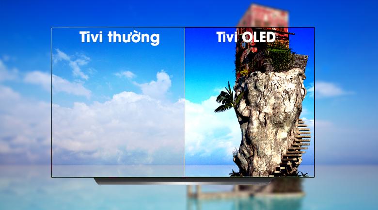 Smart Tivi OLED LG 4K 77 inch 77C9PTA - Kiến tạo hình ảnh cuộc sống ngoài mong đợi với màn hình OLED