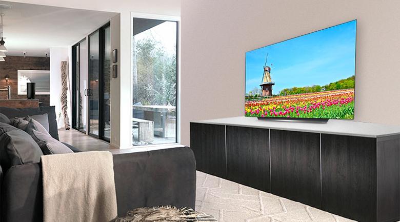 Smart Tivi OLED LG 4K 77 inch 77C9PTA có thiết kế phù hợp với mọi không gian