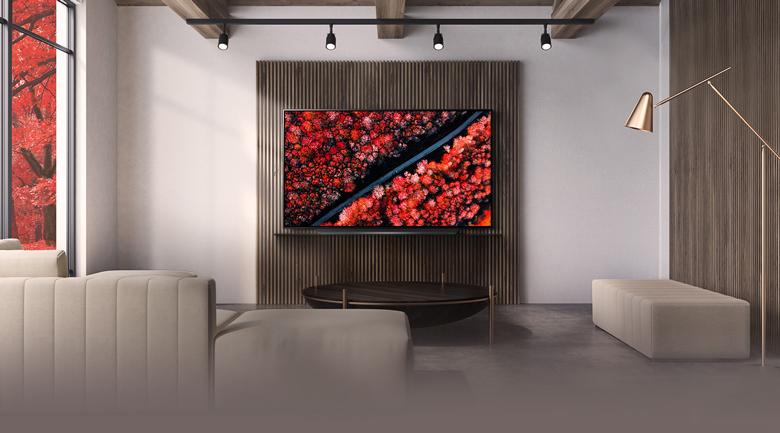 Smart Tivi OLED LG 4K 77 inch 77C9PTA - Thiết kế