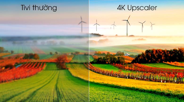 Smart Tivi OLED LG 4K 77 inch 77C9PTA có công nghệ 4K Upscaler