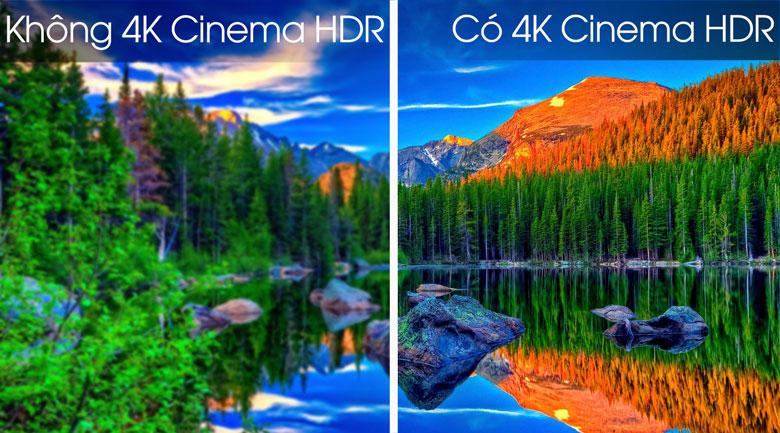 Smart Tivi OLED LG 4K 77 inch 77C9PTA - Công nghệ 4K Cinema HDR