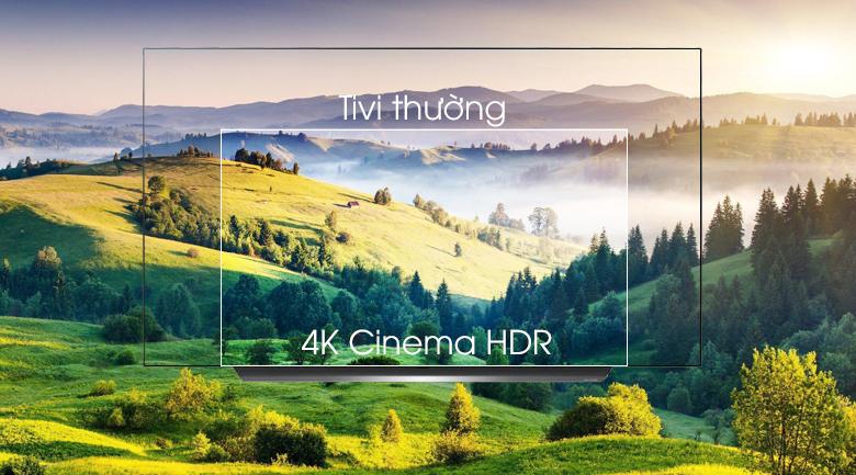 Smart Tivi OLED LG 4K 77 inch 77C9PTA co·4K Cinema HDR cho hình ảnh chân thật