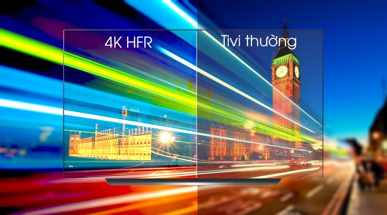 Smart Tivi OLED LG 4K 77 inch 77C9PTA - Chuyển động nhanh mượt mà với công nghệ 4K HFR