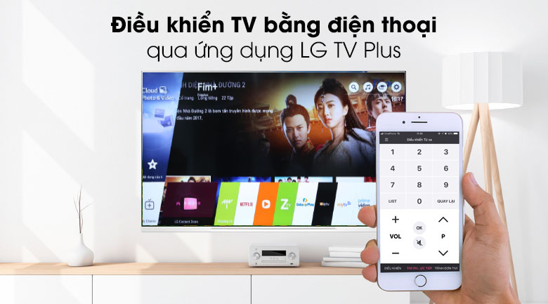 Tivi OLED LG 4K 55 inch 55E9PTA - Ứng dụng LG TV Plus