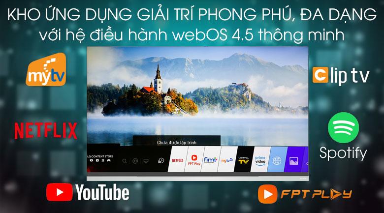 Hệ điều hành WebOS - Smart Tivi OLED LG 4K 55 inch 55E9PTA Mẫu 2019