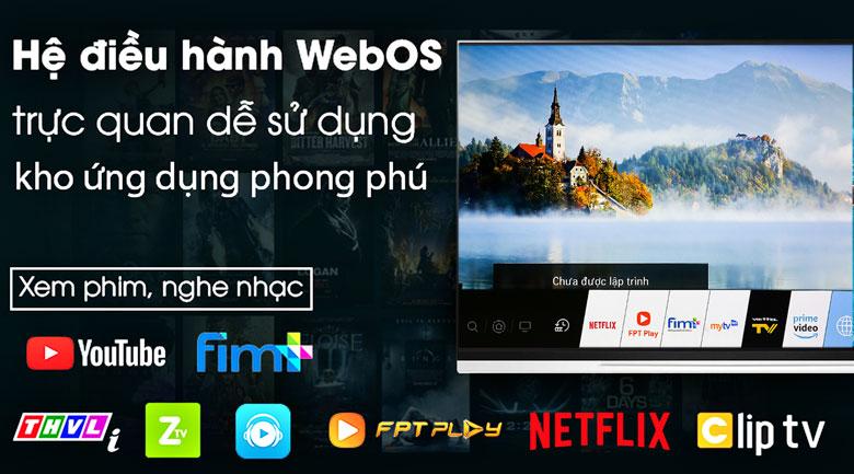 Smart Tivi OLED LG 4K 65 inch 65E9PTA - Hệ điều hành