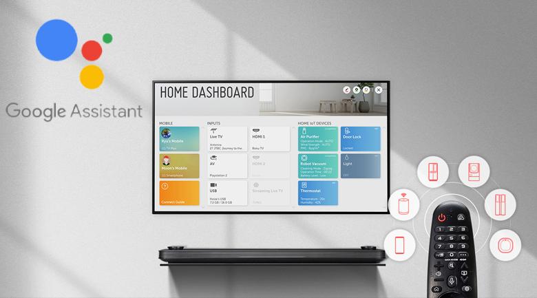 Smart Tivi OLED LG 4K 65 inch 65E9PTA trang bị AI ThinQ - Trí tuệ nhân tạo thông minh