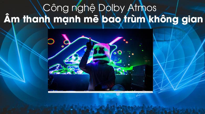 Âm thanh mạnh mẽ bao trùm không gian với công nghệ Dolby Atmos -Smart Tivi OLED LG 4K 65 inch 65E9PTA