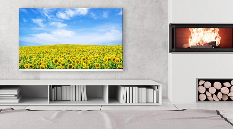 Smart Tivi OLED LG 4K 65 inch 65E9PTA có thiết kế tính tế, sang trọng