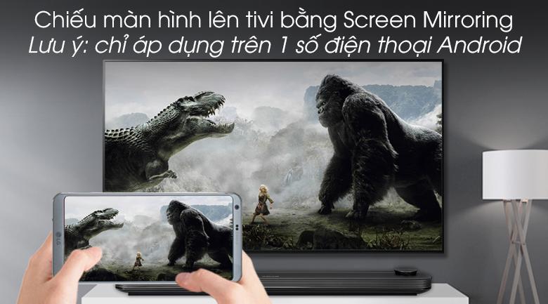 Smart Tivi OLED LG 4K 65 inch 65W9PTA - Screen Mirroring