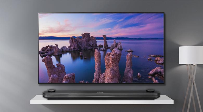 Smart Tivi OLED LG 4K 77 inch 77W9PTA - Thiết kế