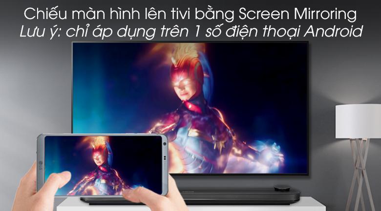 Smart Tivi OLED LG 4K 77 inch 77W9PTA - Screen Mirroring