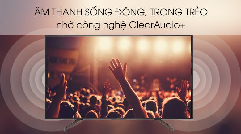 Smart Tivi Sony 4K 65 inch KD-65X7000G - Clear Audio