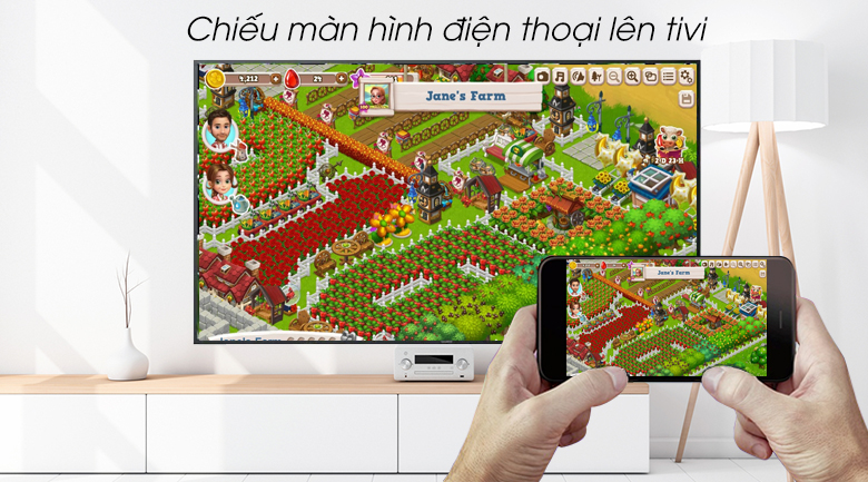 Smart Tivi Sony 4K 65 inch KD-65X7000G - Screen Mirroring