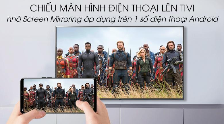 Smart Tivi LG 4K 75 inch 75UM7500PTA - Screen Mirroring