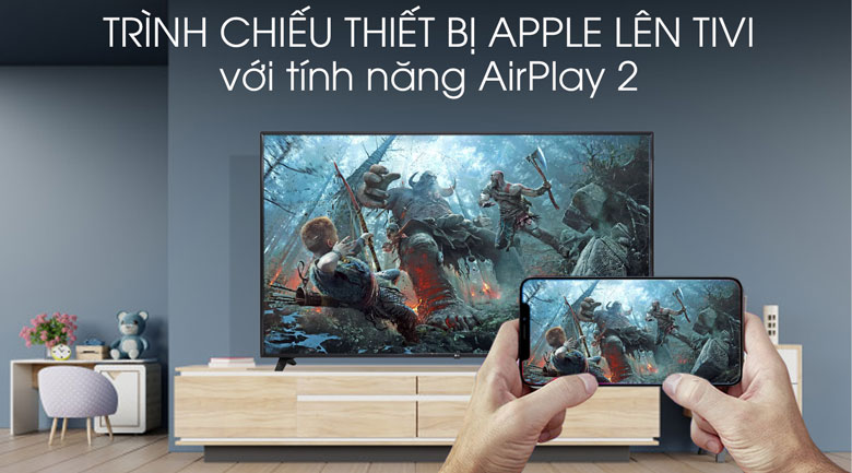 Smart Tivi LG 4K 75 inch 75UM7500PTA - AirPlay 2