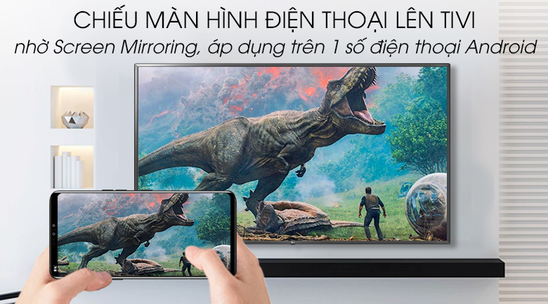 Smart Tivi LG 4K 86 inch 86UM7500PTA - Screen Mirroring