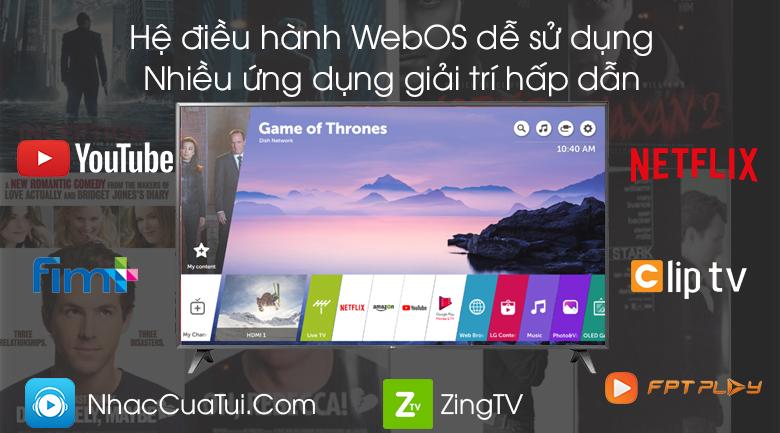 Smart Tivi LG 4K 86 inch 86UM7500PTA - WebOS