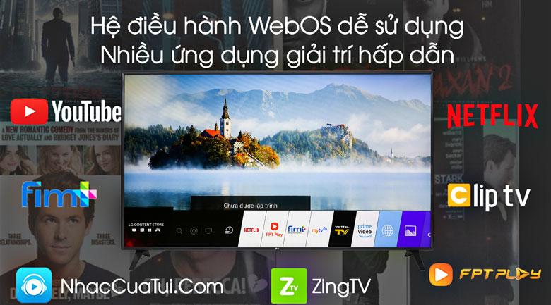 Smart Tivi LG 4K 86 inch 86UM7500PTA - Hệ điều hành