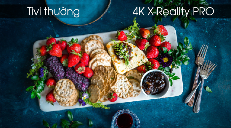 Android Tivi OLED Sony 4K 65 inch KD-65A8G - 4K X-Reality PRO