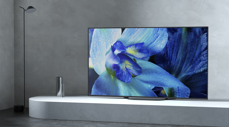 Android Tivi OLED Sony 4K 65 inch KD-65A8G - Thiết kế