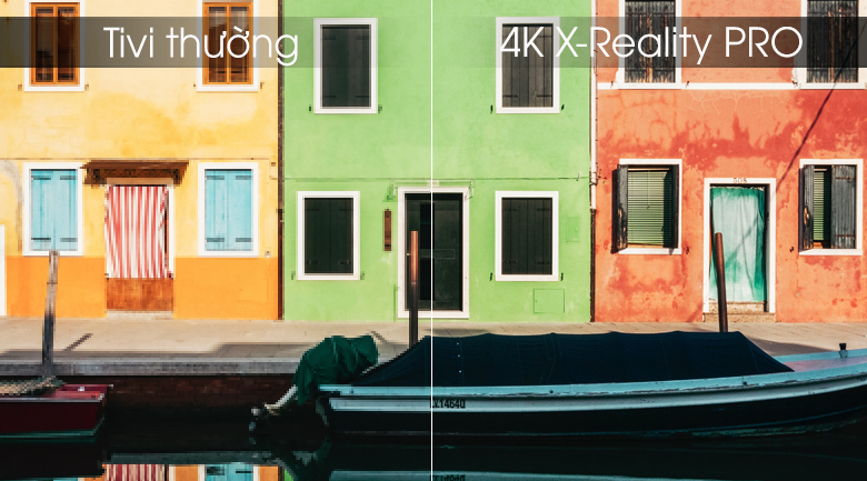 Android Tivi OLED Sony 4K 55 inch KD-55A9G - 4K X-Reality PRO