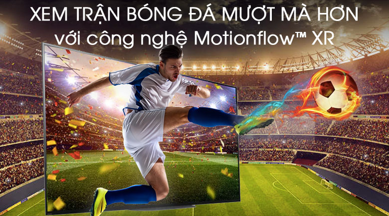 Android Tivi OLED Sony 4K 65 inch KD-65A9G - công nghệ Motionflow XR