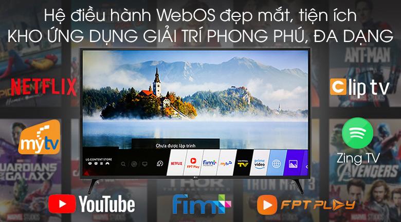 Smart Tivi LG 4K 49 inch 49UM7290PTA - WebOS 4.5