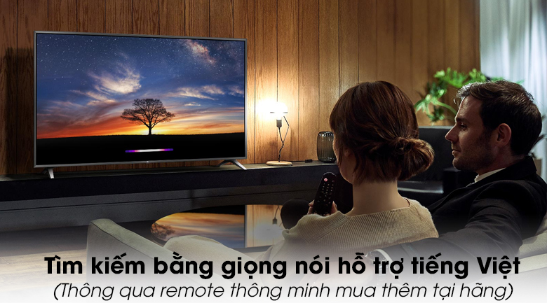Smart Tivi LG 4K 49 inch 49UM7290PTD - tìm kiếm bằng giọng nói