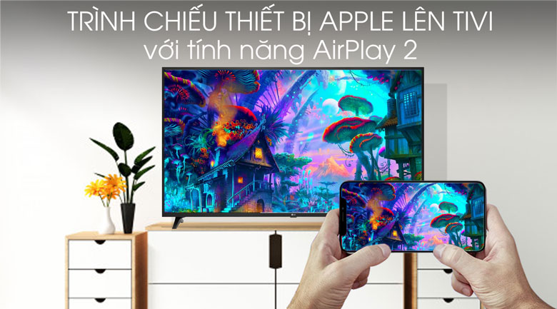 Smart Tivi LG 4K 55 inch 55UM7290PTD - AirPlay 2