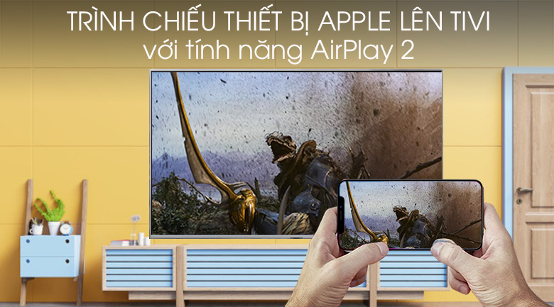Smart Tivi QLED Samsung 4K 82 inch QA82Q75R - AirPlay 2