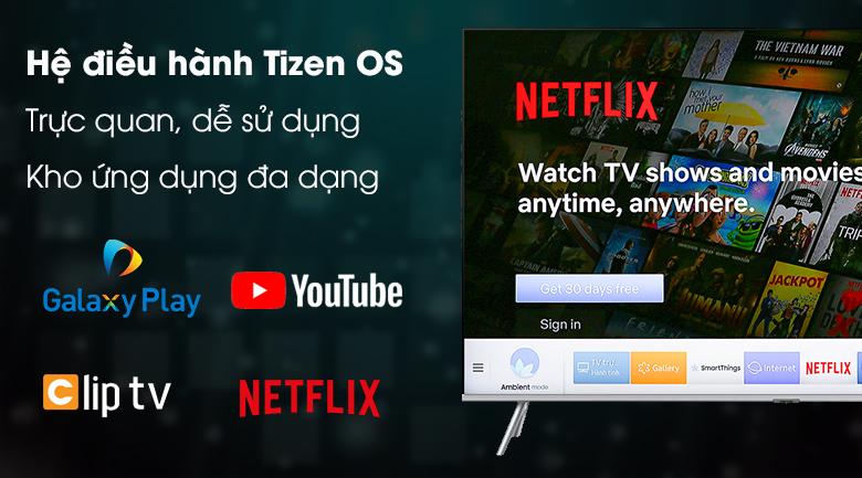 Smart Tivi QLED Samsung 4K 82 inch QA82Q75R - Tizen OS