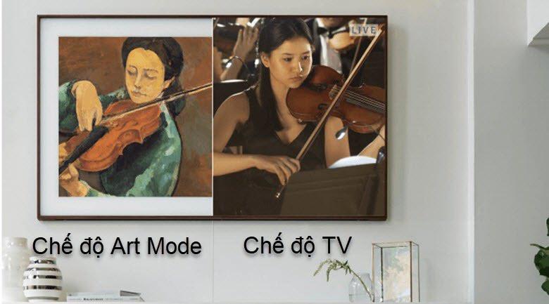Smart Tivi Khung Tranh QLED Samsung 4K 65 inch QA65LS03R - Art mode