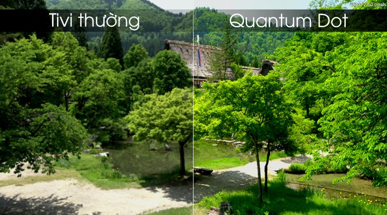 Công nghệ màn hình chấm lượng tử Quantum Dot - Smart Tivi Khung Tranh QLED Samsung 4K 55 inch QA55LS03R