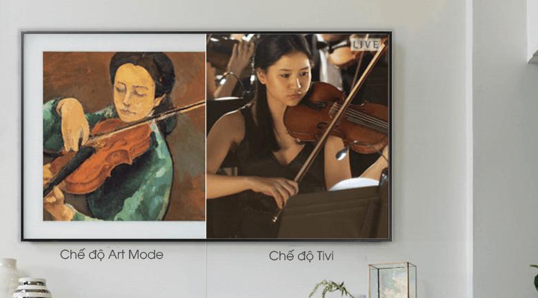 Chế độ Art Mode - Smart Tivi Khung Tranh QLED Samsung 4K 55 inch QA55LS03R