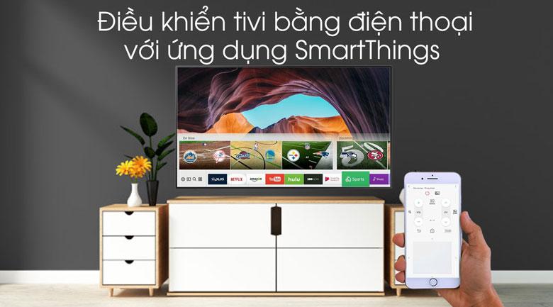 Smart Tivi Khung Tranh QLED Samsung 4K 55 inch QA55LS03R - SmartThings