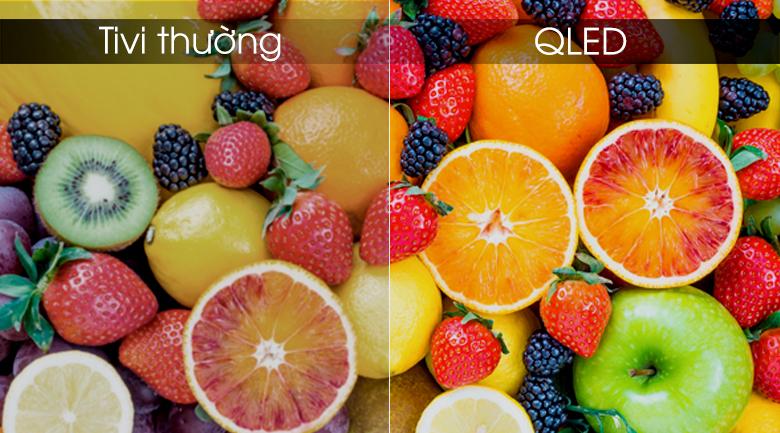 Công nghệ màn hình tivi QLED - Smart Tivi Khung Tranh QLED Samsung 4K 55 inch QA55LS03R