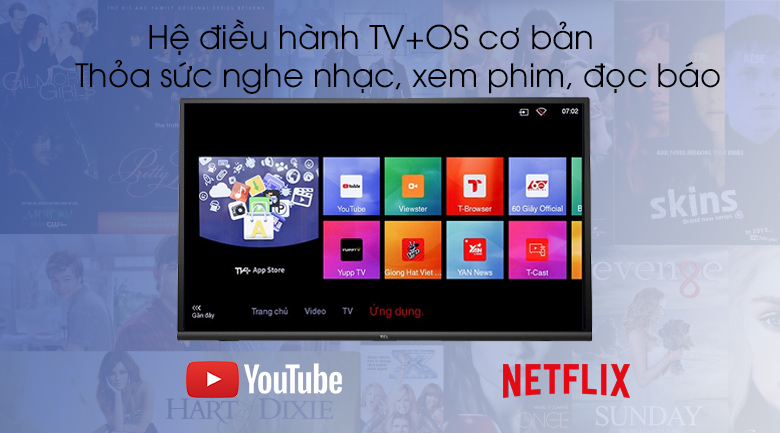 Smart Tivi TCL 32 inch L32S6300 - TV+OS
