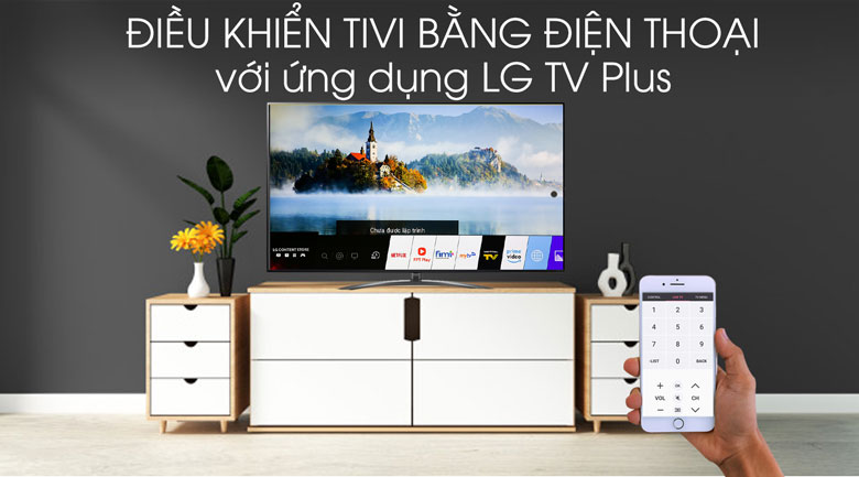 Smart Tivi LG 8K 75 inch 75SM9900PTA - LG TV Plus