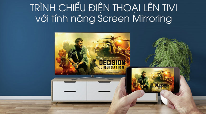 Smart Tivi LG 8K 75 inch 75SM9900PTA - Screen Mirroring