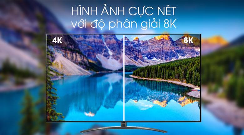 Smart Tivi LG 8K 75 inch 75SM9900PTA - Độ phân giải