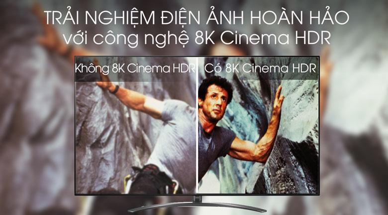 Smart Tivi LG 8K 75 inch 75SM9900PTA - 8K Cinema HDR